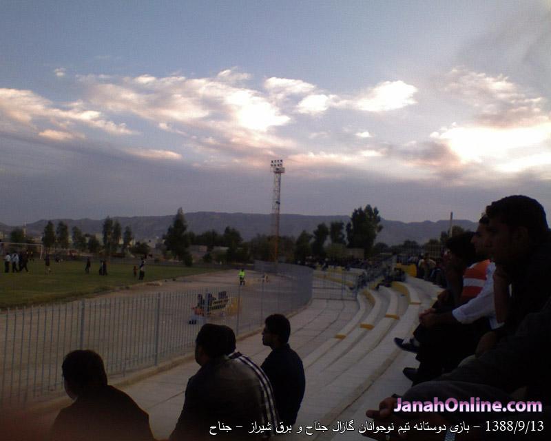 دو مسابقه در یک روز بین دو تیم گازال جناح و برق شیراز با برد تیم گازال جناح