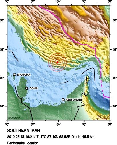 اطلاعات دقیقتر از زمین لرزه دیشب منطقه جناح
