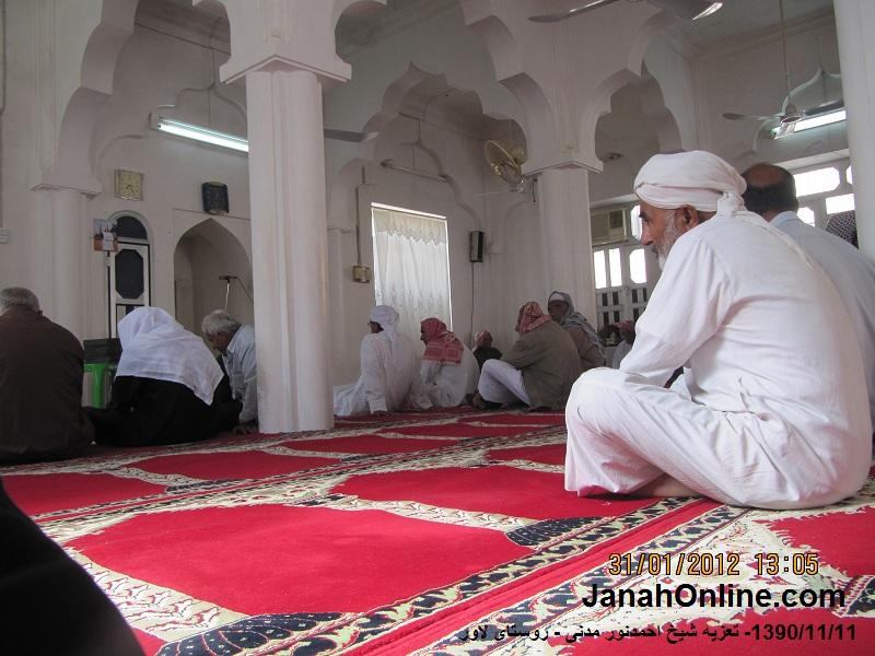 گزارش تصویری از روز ختم درگذشت شیخ احمدنور مدنی، شیخ لاور